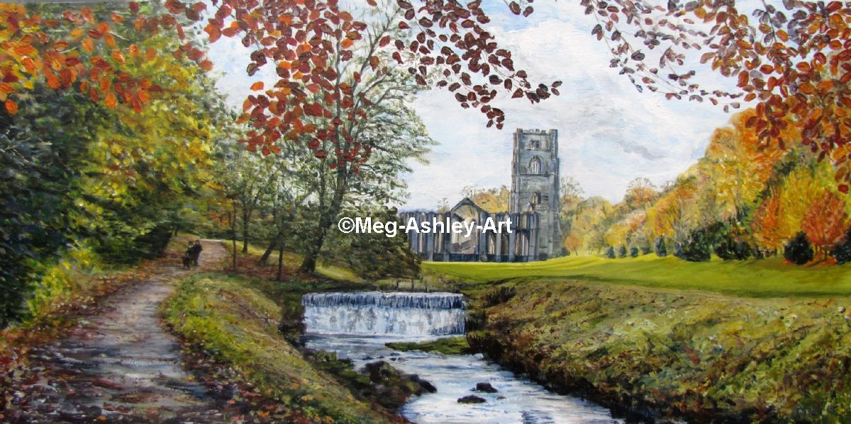 Autumn at Fountains Abbey
